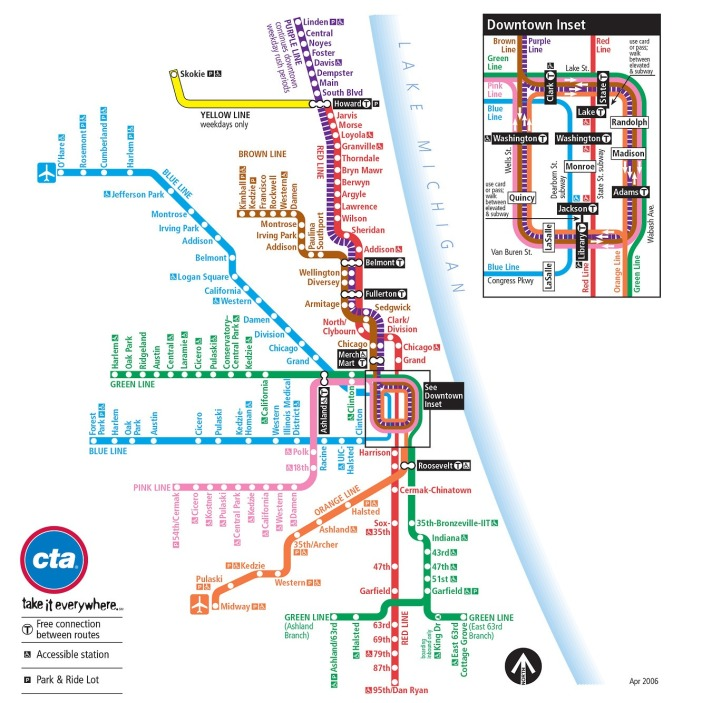 CTA Train Map