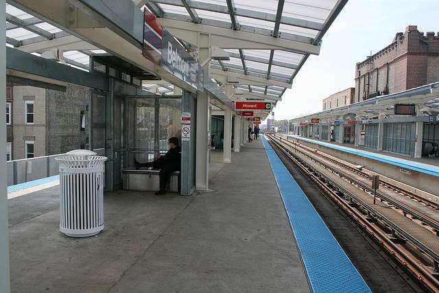 Belmont L Station