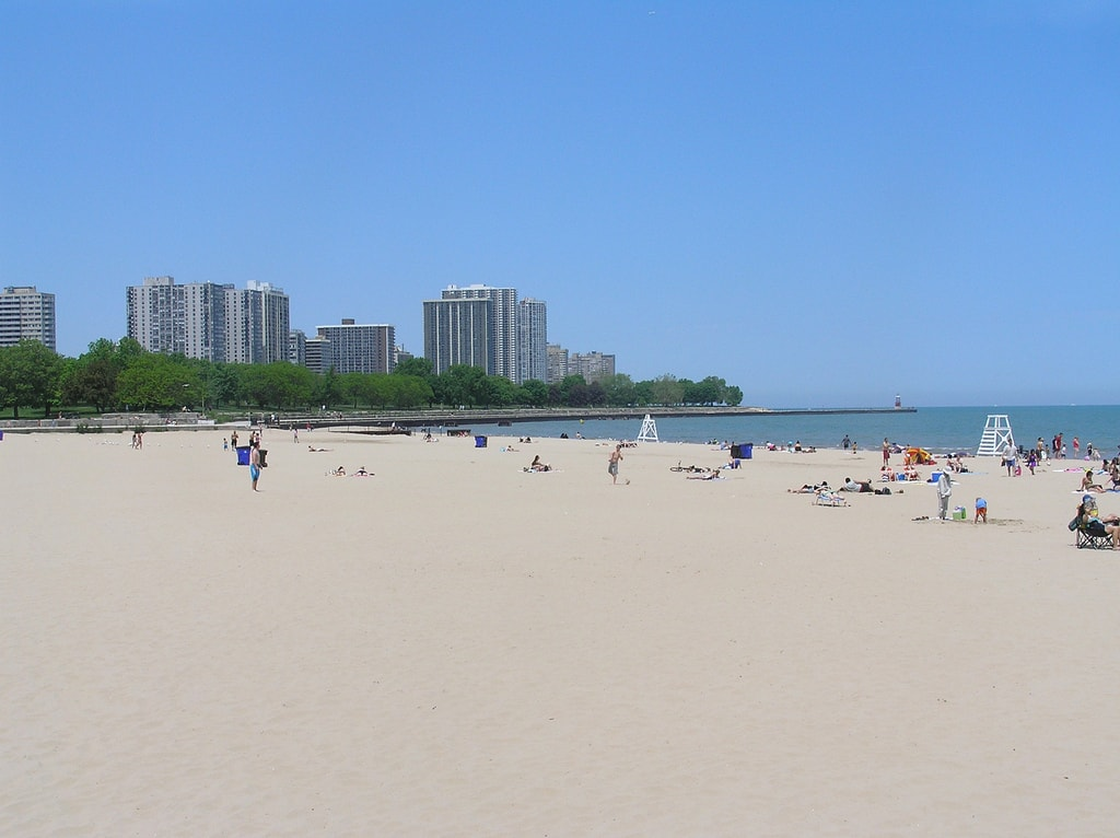Foster Beach Chicago
