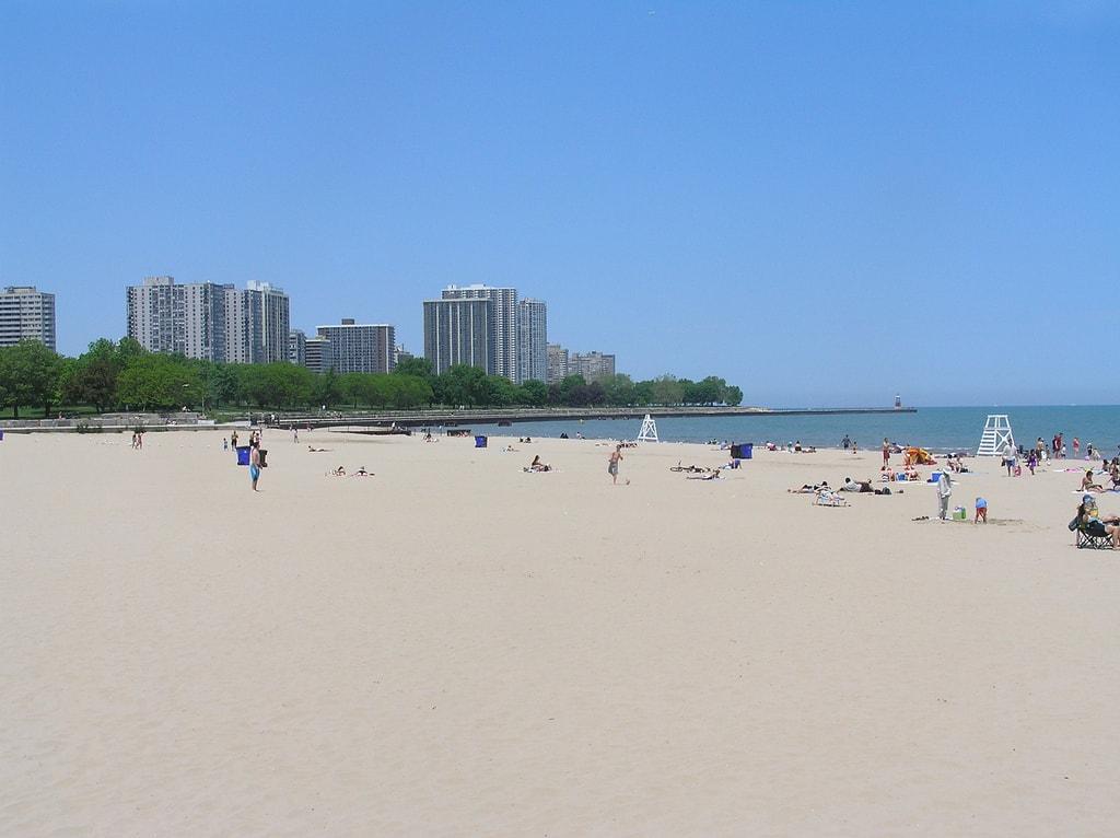 Foster Beach Chicago