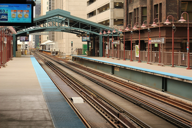 Harold Washington Library L Station