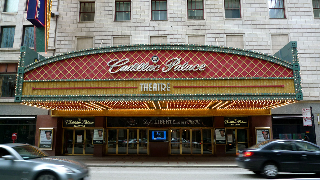 Cadillac Palace Theatre Chicago