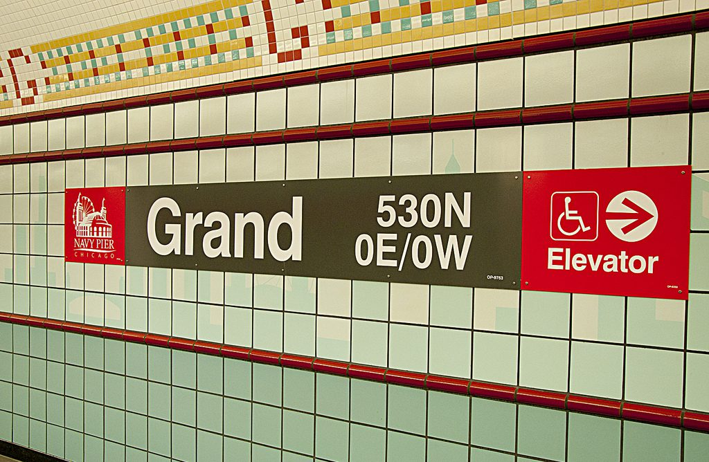 Grand Red CTA Station
